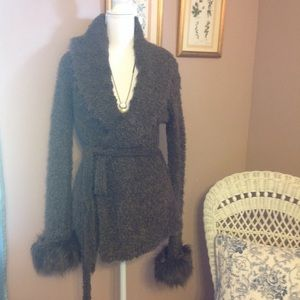 MNG Thick warm cardigan, casual, occasion.